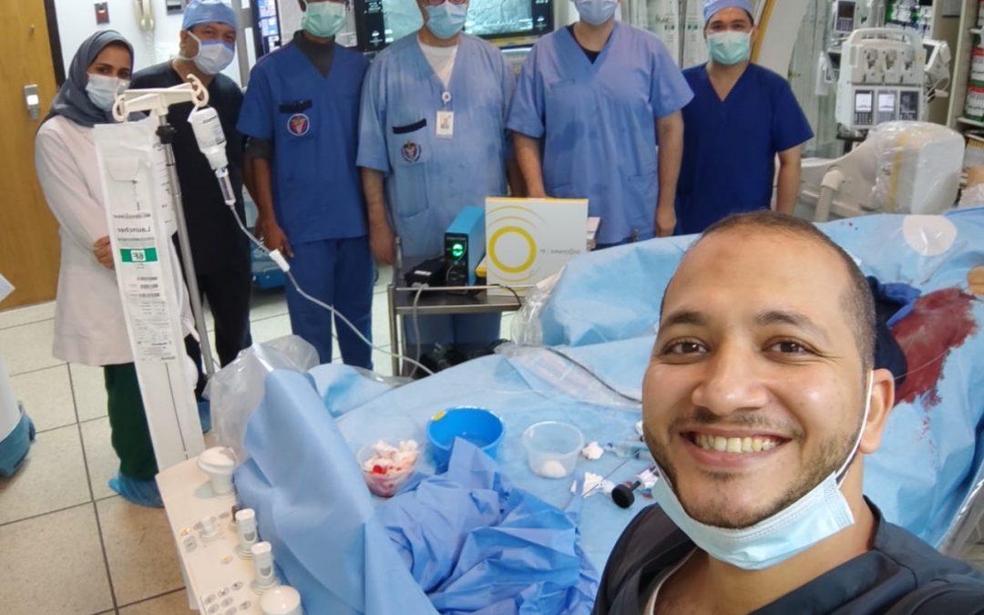 Shockwave IVL at King Abdulaziz University Hospital Jedddah
